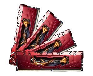 G.SKILL Ripjaws4 DDR4 16GB (4GB x 4) 2400MHz CL14 Quad Channel Ram
